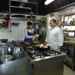 Cocinando en A Eira do Mel