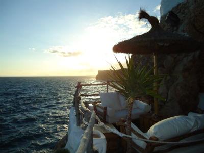 chiringuito frente al mar