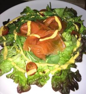 Ensalada salmón marinado_el chiscón