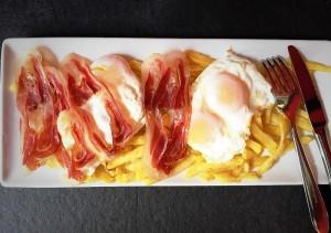 huevos doble yema