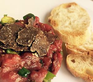 Steak Tartar trufado La Dominga