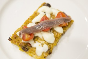 FALSA PIZZA DE COLIFLOR