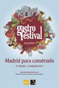 gastrofestival madrid cartel