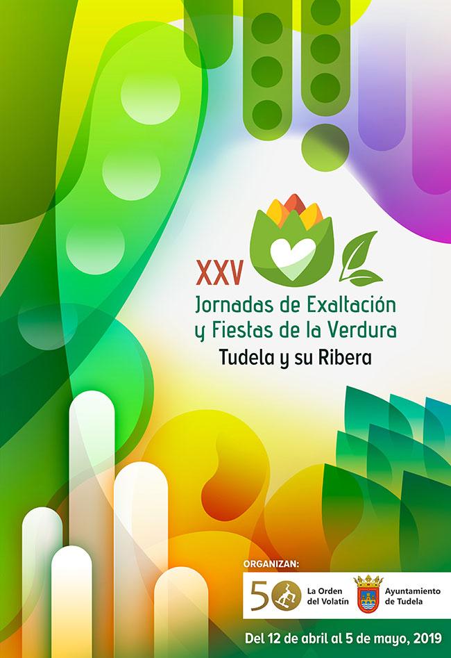 Cartel XXV Jornadas de la Exaltación y Fiestas de la Verdura 2019